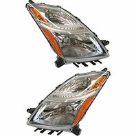 Fits Prius from 11/05-09 Left & Right Set Headlight Assembly Halogen Type