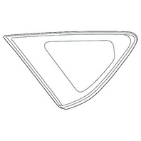 OEBrands Fits 12-17 Prius V Left Driver Side Rear Fixed Quarter Glass OE