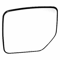Fits 07-17 Jeep Patriot Left Driver Side Mirror Glass w/ Holder OE