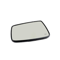 Left Heated Auto Dim Mirror Glass w/ Holder for 09-17 Ram 1500 10-17 2500 3500