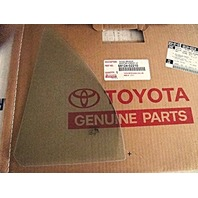 TOYOTA Fits 09-13 Corolla Left Driver Side Rear Door Fixed Vent Glass OE