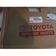 Fits 02-06 Toyota Camry Left Driver Rear Triangle Vent Glass new OEM
