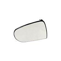 Fits 14-18 Jeep Cherokee Left Driver Mirror Glass  w/Rear Back Plate OE