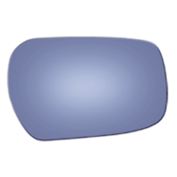 Right Pass Blue Convex Mirror Glass Lens w/Adhesive 99-01 Inf Q45
