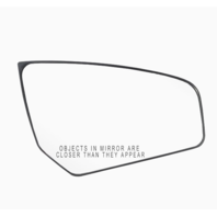 Right Passenger Convex Mirror Glass w/ Holder Fits 07-12 Sentra