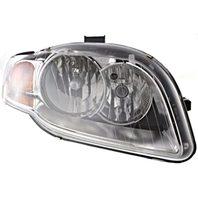 BAP Fits 05-08 A4 Gen 3 Sedan/Wagon 07-09 A4 Conv Right Pass Headlamp Assembly
