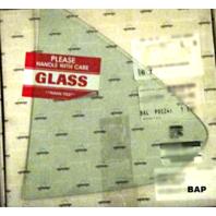 Fits 00-06 Sentra Left Driver Rear Vent Glass - Genuine OEM