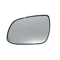Fits 10-13 Forte Left Driver Manual Mirror Glass w/Holder OE
