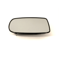 Fits 10-17  Genesis Coupe Left Driver Mirror Glass Heated w/Holder OE
