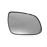 Fits 10-13 Forte Right Passenger Convex Manual Mirror Glass w/Holder OE