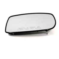 Fits 10-16 Genesis Coupe Right Pass Convex Mirror Glass Heated w/Holder OE
