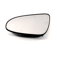 Fits 12-14 Toyota Camry Left Driver Mirror Glass w/Rear Back Plate OEM