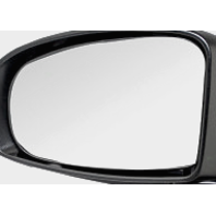 "Fits 10-14 Prius Lt Driver Heated Mirror Glass w/Holder OE except ""C"" or ""V"""