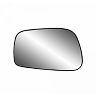 Fits 03-08 Toy Corolla, Matrix, Pontiac Vibe Left Driver Mirror Glass w/ Holder
