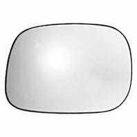 Fits 02-04 Ram 1500 2500 3500 Left Driver Mirror Glass w/ Holder