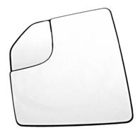 Fits 15-18  F150 Left Driver Mirror Glass & Holder w/ Corner Spot Mirror