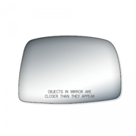 2 Options Fits 95-00 Tacoma Right Pass Mirror Glass Lens Manual w/Adhesive