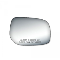 Fits 09-13 Corolla, Matrix, Pont Vibe Right Pass Mirror Glass Lens w/ Adhesive