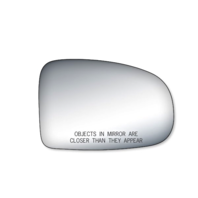 Fits 10-15 Toy Prius Right Pass Convex Mirror Glass Lens w/Adhesive also Plug-in