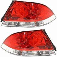 Aftermarket Fits 04-07 Lancer Sedan Tail Lamp/Light Right & Left Set