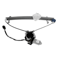 For 10-14 Legacy / Outback Power Window Regulator Rear Passenger With Motor