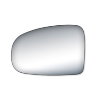 Fits 10-15 Toy Prius Left Driver Mirror Glass Lens w/Adhesive also Plug-in