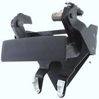 VAM Fits 94-01 Ram Pickup Rear Tailgate Handle Black 94-02 Ram 2500, 3500