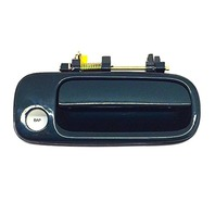 92-96 Camry Right Pass Front Exterior Door Handle Painted Green Code 6M1