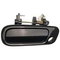 Fits 92-96 Camry Left Driver Front Exterior Door Handle Smooth Black