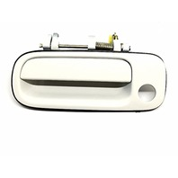 Fits 92-96 Camry Left Driver Front Exterior Door Handle Painted Super White 040