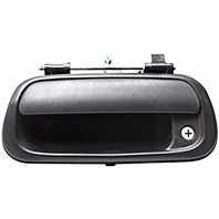VAM Fits 00-04 Tundra Rear Tailgate Handle Black Textured (See Our Store for Smooth)