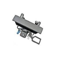 07-13 Silverado, Sierra 2014- 2500, 3500Rear Tailgate Handle w/ keyhole Black