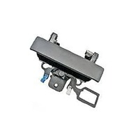 for 08-13 Silverado Sierra 2014-2500, 3500 Rear Tailgate Handle w/Keyhole Black