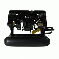 Aftermarket Fits 02-06 Avalanche Back Rear Exterior Tailgate Handle Black Textured