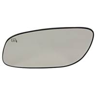 Fits 10-12 Taurus Left Driver Mirror Glass Heated w/Rear Holder OE