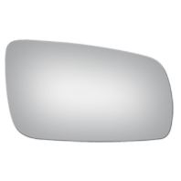 Fits 98-99  A4 A6 Right Pass Mirror Glass Lens Models for Auto Dim Type Fit Over