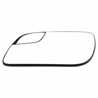 Fits 12-19 Taurus Left Driver Mirror Glass w/ Small Spot, Rear Holder OE