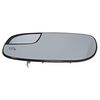 Fits 12-19 Taurus Left Driver Mirror Glass w/ Small Spot, Rear Holder Heated OE