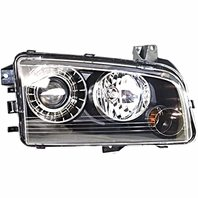BAP Fits 08-10 Charger Left Driver HID Headlamp Assembly with Out HID Kit