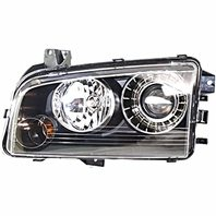 BAP Fits 08-10 Charger Right Passenger HID Headlamp Assembly with Out HID Kit