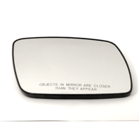 Right Pass Mirror Glass Manual w/Rear Holder for 09-16 Dodge Journey