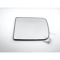 For 09-18 Ram 1500,10-18  2500, 3500 Left Heat Large Tow Mirror Glass w/Holder