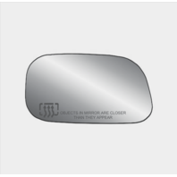 Fits 05-11 Dakota, 04-09 Durango, Aspen 06-09 Raider Heated Right Mirror Glass w/Holder, Foldaway