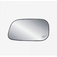 Fits 05-11 Dakota, 04-09 Durango, Aspen 06-09 Raider Heated Left Mirror Glass w/Holder, Foldaway