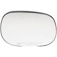 Fits Dakota, Durango, Ram P/u, Van Right Pass Heated Mirror Glass w/ Holder