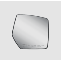 Fits 07-11 Nitro 08-12 Liberty Right Passenger Heated Mirror Glass w/Holder
