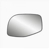 Fits 02-05 Explorer, Sport Trac, Ranger, Mountaineer Left Mirror Glass w/Holder