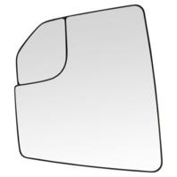 Fits 15-20  F150 Left Driver Mirror Glass w/Heat, Holder w/ Spot Mirror
