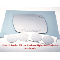 *2 Options for 11-19 Fd Explorer Right Pass Mirror Glass Lens w/Blind-Spot Icon