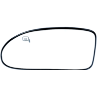 Fits 04-07 Focus Left Driver Side Heated Mirror Glass w/ Holder